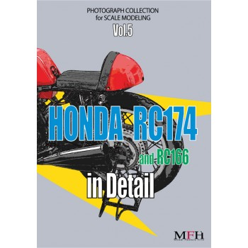 Photograph Collection Vol.5: HONDA RC174 and RC166 in Detail
