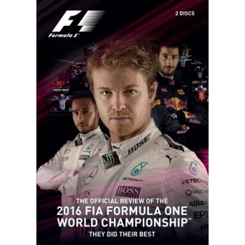 F1 2016 Official Review (313 Mins) DVD